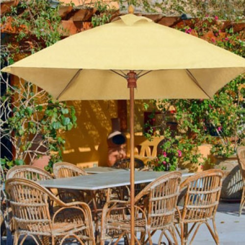 7.5 Foot Harbor Beach Fiberglass Patio Umbrella - Commercial Umbrellas
