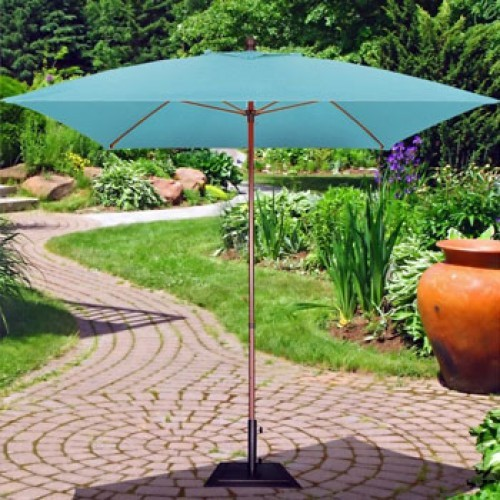6 Foot Square Residential Market Umbrella