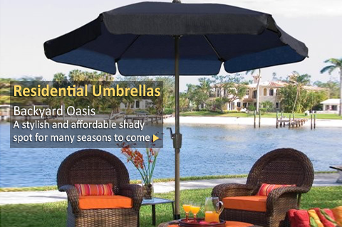 Residential Patio Umbrellas