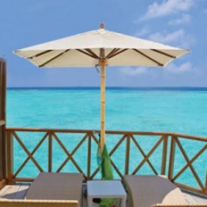 7.5 Foot Big Bamboo Square Patio Umbrella