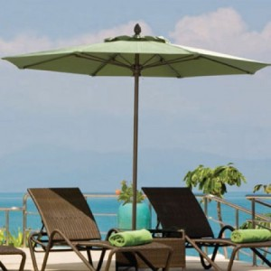 9 Foot Abaco Fiberglass Market Umbrella