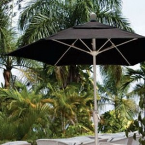 9 Foot Fiberglass Patio Umbrella
