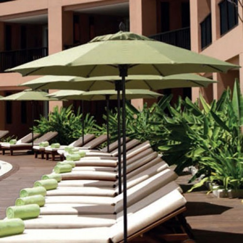 8 Foot Westport Fiberglass Patio Umbrella
