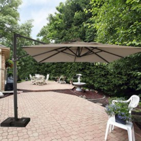 10 Foot Cantilever Offset Patio Umbrella