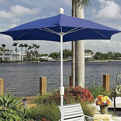 7.5 Foot Fiberglass Terrace Umbrella