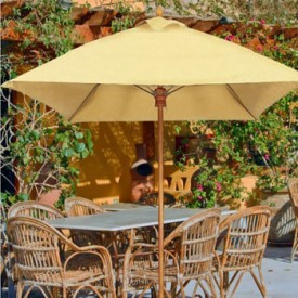 10 Foot Harbor Beach Fiberglass Patio Umbrella